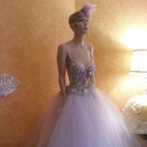 Sebrina Love / Sebrina Love Bridals Dresses - Sequin Illusion Crystal Look  Bralette Ballgown